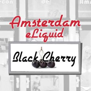 Black Cherry e-Liquid, Amsterdam, eJuice, Electronic Cigarette, Vaping