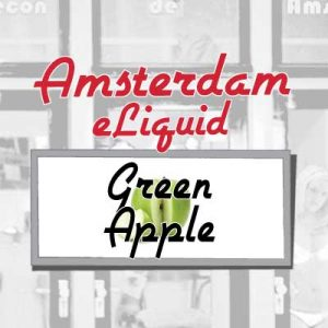 Green Apple e-Liquid, Amsterdam, Flavours, Fruity, eCig, Vaping