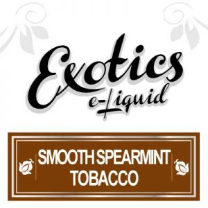 Smooth Spearmint Tobacco, Exotics, e-Liquid, eCig, Vaping