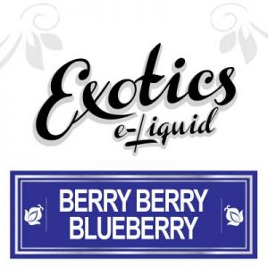 Berry Berry Blueberry e-Liquid, Electronic Cigarette, Vaping