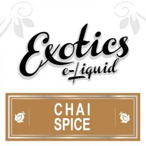 Chai Spice e-Liquid, Drink Flavoured e-Liquid, eJuice