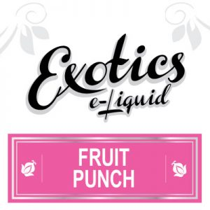Fruit Punch e-Liquid, Exotics, eJuice, Vaping
