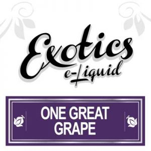 One Great Grape e-Liquid, electronic cigarette, Vaping
