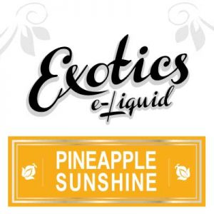 Pineapple Sunshine e-Liquid, Fruity, eJuice, Exotics, Vaping