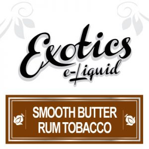 Smooth Butter Rum Tobacco e-Liquid Flavours, eJuice, e-Liquids