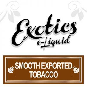 Smooth Exported Tobacco e-Liquid, e-Liquid, Exotics, Vaping