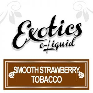 Smooth Tobacco, e-Liquid, Strawberry, Exotics, eJuice