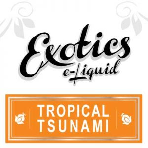 Exotics e-Liquid, Tropical Tsunami eJuice, Electronic Cigarette, Vaping