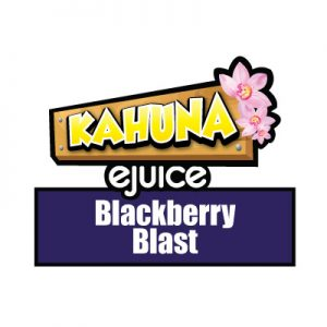 Blackberry Blast e-Liquid, Kahuna eJuice, Vaping, Vape, eCig, Fruit