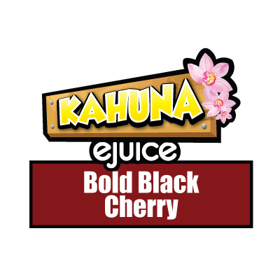Bold Black Cherry, Kahuna eJuice, Vaping, Fruity, Fruit, eCig