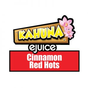 Cinnamon Red Hots e-Liquid, Kahuna eJuice, Sweet, Flavour, Vape, Vaping