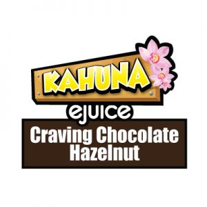 Craving Chocolate Hazelnut e-Liquid, Kahuna eJuice, Sweet, Flavours, Vaping, eCig