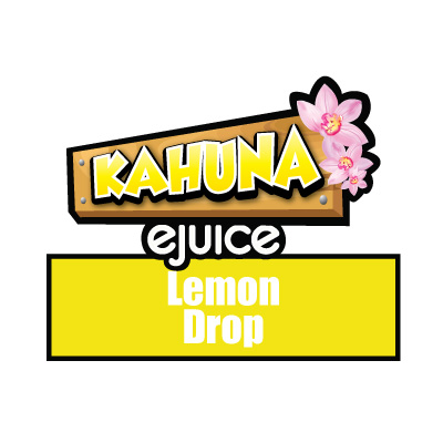Lemon Drop e-Liquid, Kahuna eJuice, Vaping, Fruity Flavours, eCig