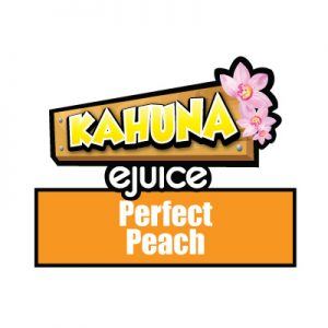 Perfect Peach e-Liquid, Kahuna eJuice, Fruity, Fruit Flavours, Vaping
