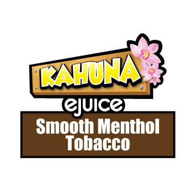 Smooth Menthol Tobacco e-Liquid, Kahuna eJuice, eCig, Vape, Vaping, Delicious