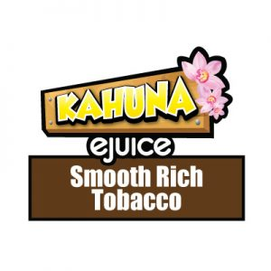 Smooth Rich Tobacco e-Liquid, Kahuna eJuice, Vape, Vaping, eCig