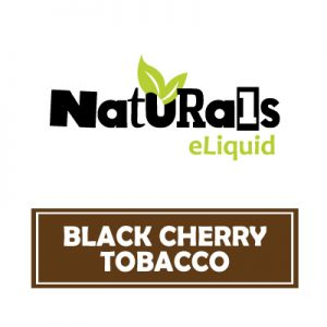 Black Cherry Tobacco e-Liquid, Naturals e-Liquid, Vape, Vaping, eCig, Organic