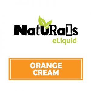Organic Orange Cream e-Liquid, Naturals e-Liquid, Sweet Flavours, Vape, Vaping, eCig