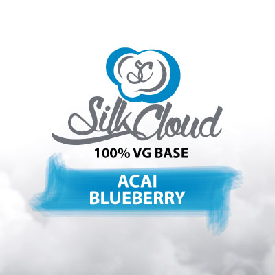 Acai Blueberry e-Liquid, Silk Cloud, eJuice, Fruity Flavours, eCig, Vaping